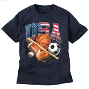 USA Sports Teamwork Tee - Boys 8-20
