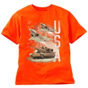 Planes and Tanks Tee - Boys 8-20