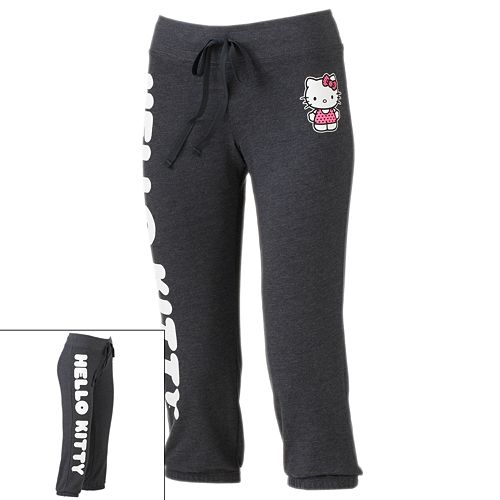 f4d6a770c Jerry Leigh Love Hello Kitty® Capri Sweatpants - Juniors