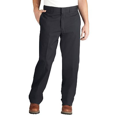 Dickies Regular-Fit Poplin Work Pants - Men
