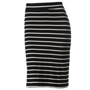 Apt. 9 Striped Pencil Skirt