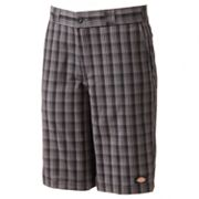 Dickies Regular-Fit Plaid Shorts - Men