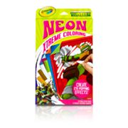 Teenage Mutant Ninja Turtles Neon Xtreme Coloring by Crayola