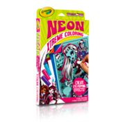 Monster High Neon Xtreme Coloring by Crayola