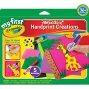 Crayola My First Handprint Creations
