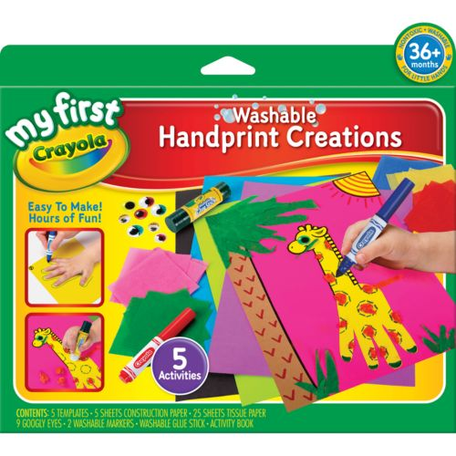Crayola My First Handprint Creations