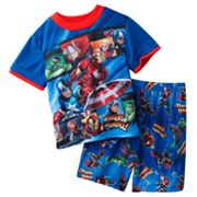 Marvel The Avengers Hero Panels Pajama Set - Boys 4-8