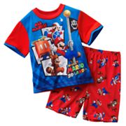 Super Mario 3D Land Flag Conqueror Pajama Set - Boys 4-12