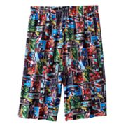 Marvel The Avengers Panel Heroes Lounge Shorts - Boys 4-20