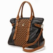 V-Couture by Kooba Le Mans Woven Convertible Tote