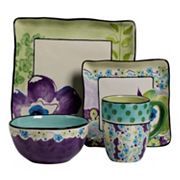 Kathy Davis Happiness 4-pc. Square Place Setting