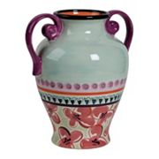 Kathy Davis Hearts and Flowers High Vase