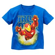 Iron Man Glow-in-the-Dark Tee - Boys 4-7