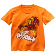 Iron Man Classic Shoosh Tee - Boys 4-7