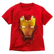 Iron Man Mask Tee - Boys 4-7
