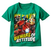 The Avengers Beware of Attitude Tee - Boys 4-7