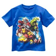 Marvel The Avengers Glow-in-the-Dark Tee - Boys 4-7