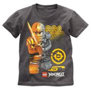 LEGO Ninjago Gold Emblems Tee - Boys 4-7