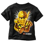 LEGO Ninjago Golden Ninja Mask Tee - Boys 4-7