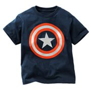 Captain America Shield Tee - Boys 4-7