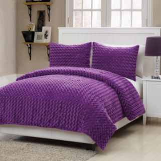 VCNY Rose Fur 2-pc. Comforter Set - Twin