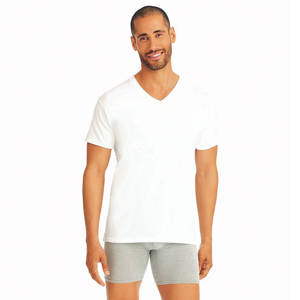 fa570fe9 Mens Hanes V Neck T Shirts | Top Mode Depot