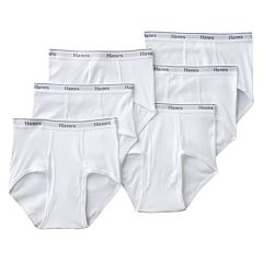 Men's Hanes 6 pkFull-Cut Brief - Big and Tall