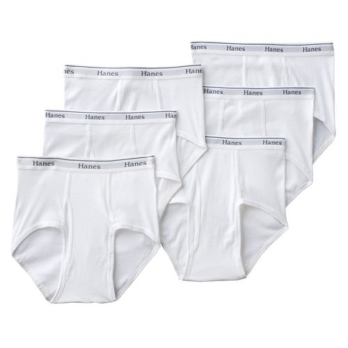 Men's Hanes® 6-pk. Full-Cut Brief - Big and Tall