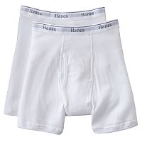 Big & Tall Hanes 2-pk. Boxer Briefs