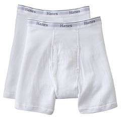 Big & Tall Hanes 2 pkBoxer Briefs