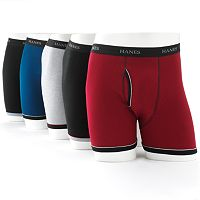 Men's Hanes Classics 5-pk. Ringer Boxer Brief