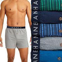 Men's Hanes Classics 5-pk. Knit Boxers