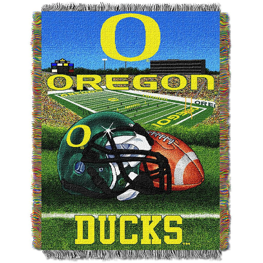 Oregon Ducks Tapestry Throw by Northwest