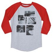 Tony Hawk Locations Raglan Tee - Men