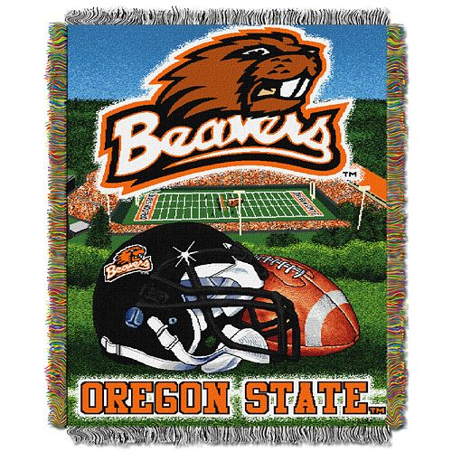 Oregon State Beavers Tapestry Throw by Northwest