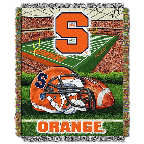 Syracuse Orange Tapestry Throw by Northwest
