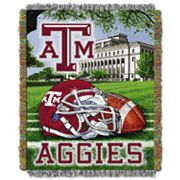 Texas A&M Aggies Tapestry Throw by Northwest