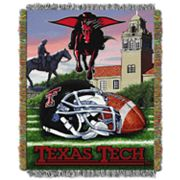 Texas Tech Red Raiders Tapestry Throw by Northwest