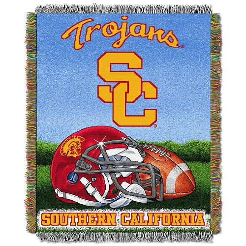 USC Trojans Tapestry Throw by Northwest