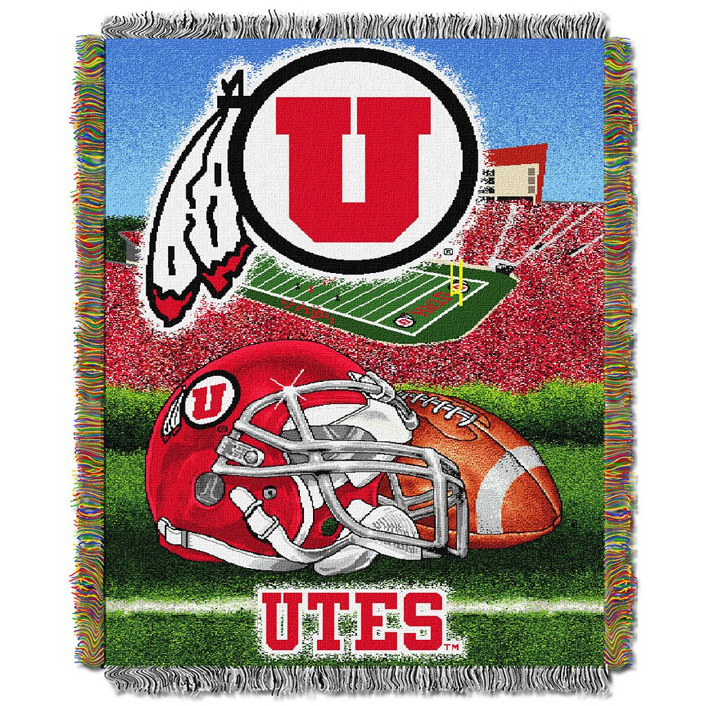 Utah Utes Tapestry Throw by Northwest