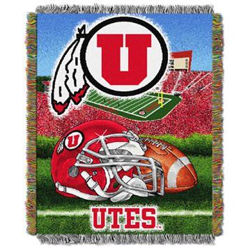 Utah Utes Tapestry Throw by Northwest