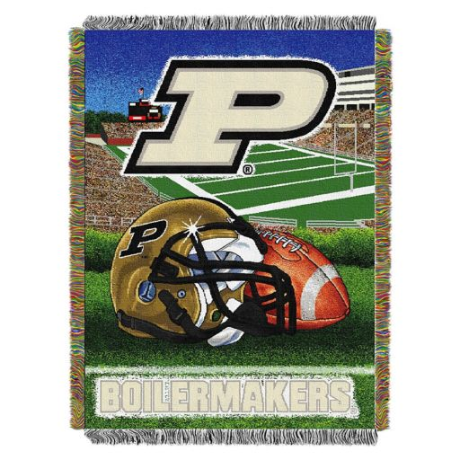 Purdue Boilermakers Tapestry Throw by Northwest