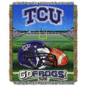 TCU Horned Frogs Tapestry Throw by Northwest