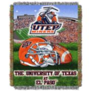 UTEP Miners Tapestry Throw by Northwest