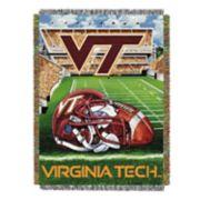 Virginia Tech Hokies Tapestry Throw by Northwest
