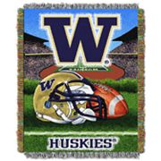 Washington Huskies Tapestry Throw by Northwest
