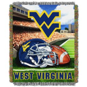 West Virginia Mountaineers Tapestry Throw by Northwest