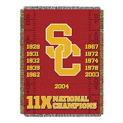 USC Trojans Commemorative Throw by Northwest