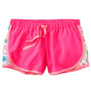 SO Peace Sign Mesh Performance Shorts - Girls 7-16