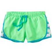 SO Heart Mesh Performance Shorts - Girls Plus